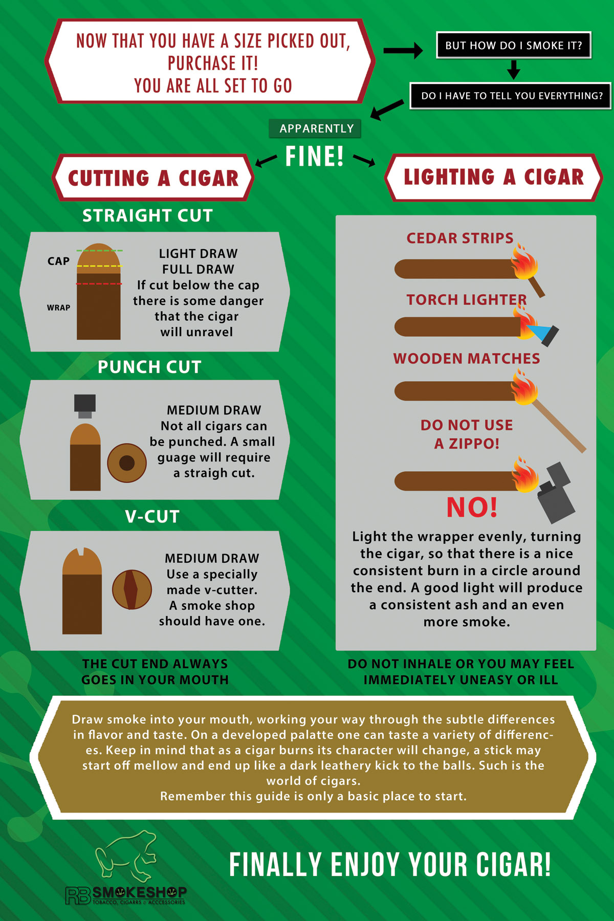 How To Choose A Cigar Rb Smoke Shop